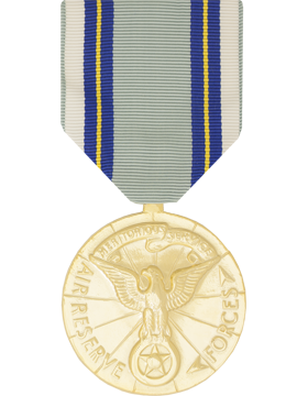 Air Reserve Meritorious Service Full Size Anodized Medal