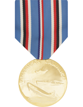 American Campaign Full Size Anodized Medal