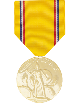 American Defense Full Size Anodized Medal
