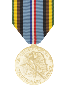 Armed Forces Expeditionary Full Size Anodized Medal