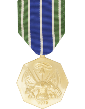 Army Achievement Full Size Anodized Medal