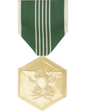Army Commendation Full Size Anodized Medal
