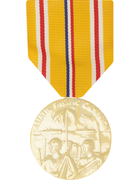 Asiatic Pacific Campaign Full Size Anodized Medal