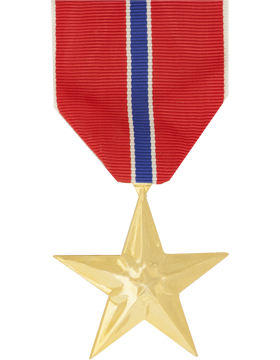 Bronze Star Full Size Anodized Medal