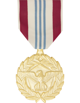 Defense Meritorious Service Full Size Anodized Medal