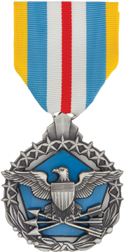 Defense Superior Service Full Size Anodized Medal
