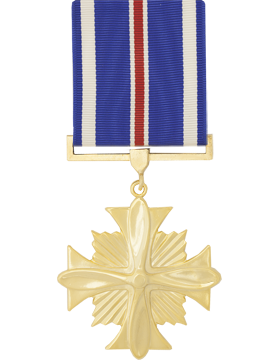 Distinguished Flying Cross Full Size Anodized Medal