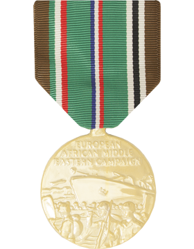 European Middle East Campaign WWII Full Size Anodized Medal