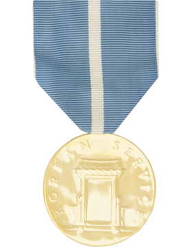 Korean Service Full Size Anodized Medal
