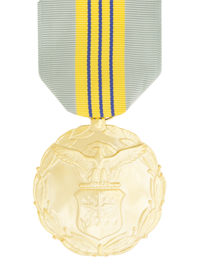 Air Force Meritorious Civ Service Full Size Anodized Medal
