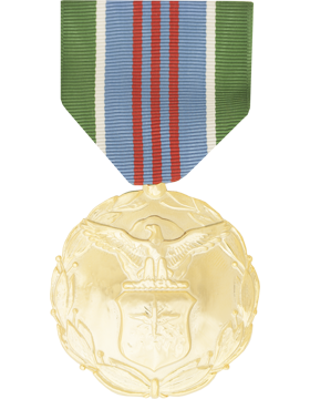 Air Force Exemplary Civ Service Full Size Anodized Medal