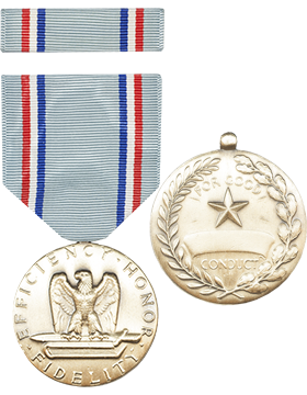 Air Force Good Conduct Full Size Medal w/Ribbon (ML-FR1008)