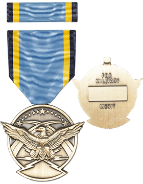 Air Force Aerial Achievement Full Size Medal with Ribbon