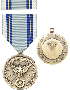 Air Reserve Meritorious Service Full Size Medal with Ribbon