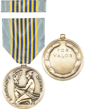 Airman Medal Full Size Medal with Ribbon