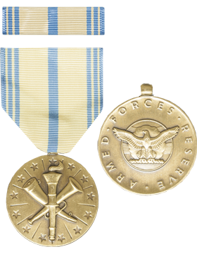 Armed Forces Reserve (Air Force) Full Size Medal with Ribbon