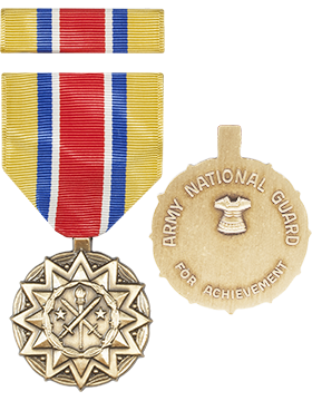 Army Reserve Achievement (National Guard) Full Size Medal with Ribbon