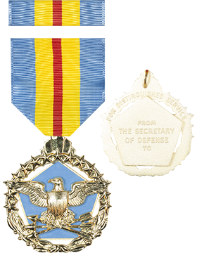 Defense Distinguished Service Full Size Medal with Ribbon