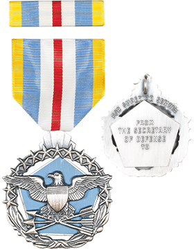 Defense Superior Service Full Size Medal with Ribbon