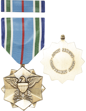 Joint Service Achievement Full Size Medal w/Ribbon (ML-FR1100)
