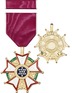 Legion Of Merit Full Size Medal with Ribbon