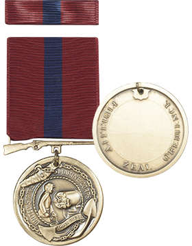 Marine Good Conduct Full Size Medal with Ribbon