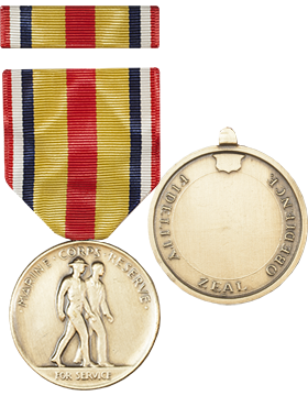 Marine Organization Reserve Full Size Medal with Ribbon