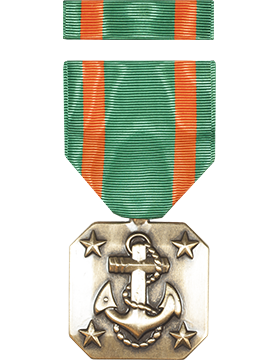 Navy Achievement Full Size Medal with Ribbon