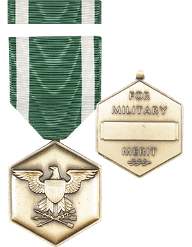 Navy Commendation Full Size Medal with Ribbon