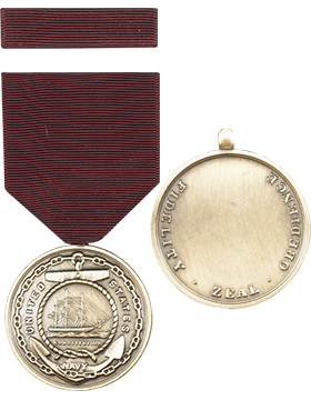 Navy Good Conduct Full Size Medal with Ribbon
