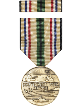 Southwest Asia Service Full Size Medal with Ribbon small