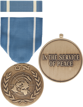 United Nations Full Size Medal with Ribbon