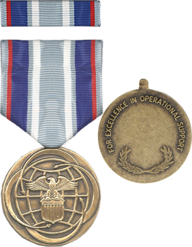 Air & Space Full Size Medal with Ribbon