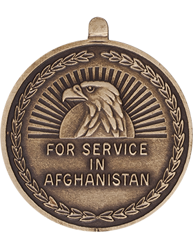 Afghanistan Campaign Full Size Medal with Ribbon small