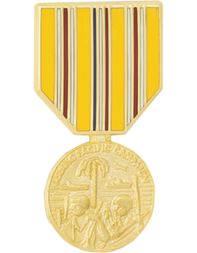 Asiatic Pacific Campaign Medal Hat Pin