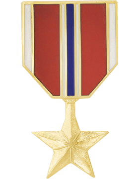 Bronze Star Medal Hat Pin
