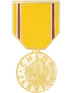 China Service Medal Hat Pin