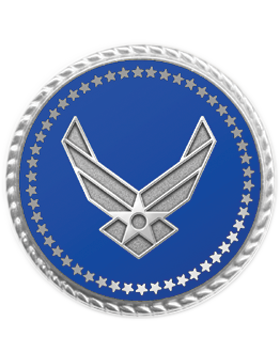 Presidential Series Air Force Lapel Pin Style 2