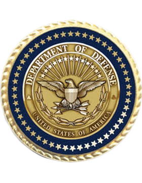 Presidential Series Lapel Pin Department of Defense