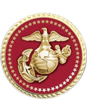 Presidential Series Marine Corps Lapel Pin Style 2