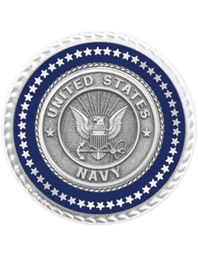 Presidential Series Navy Lapel Pin Style 2