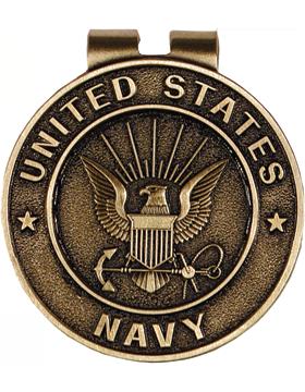 US Navy Money Clip Style 9 Bronze