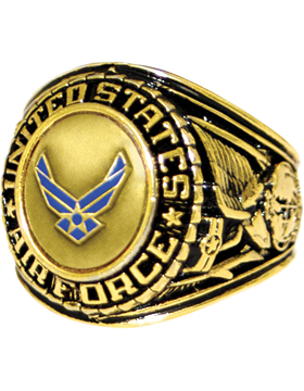 US Air Force Ring Style 21 Bronze Top