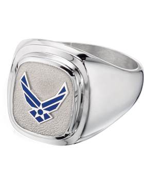 US Air Force Classic Signet Ring Style 4 small