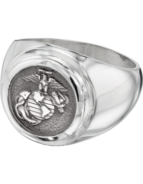 US Marine Corps Classic Signet Ring Style 4