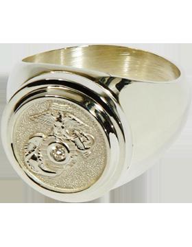 US Marine Corps Classic Diamond Ring Style 4D