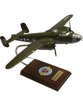 North American B-25J Mitchell Briefing Time Model Plane Scale 1:41