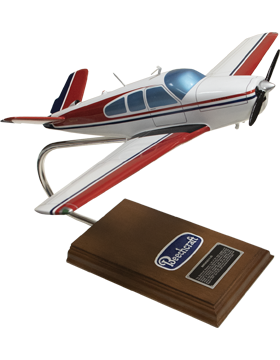 Beechcraft V-35 Bonanza Model Scale 1:24