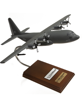 Lockheed C-130H Hercules Gunship Model Plane Scale 1:84