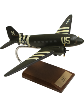 Douglas C-47 Skytrain (Olive Drab) Model Plane Scale 1:72